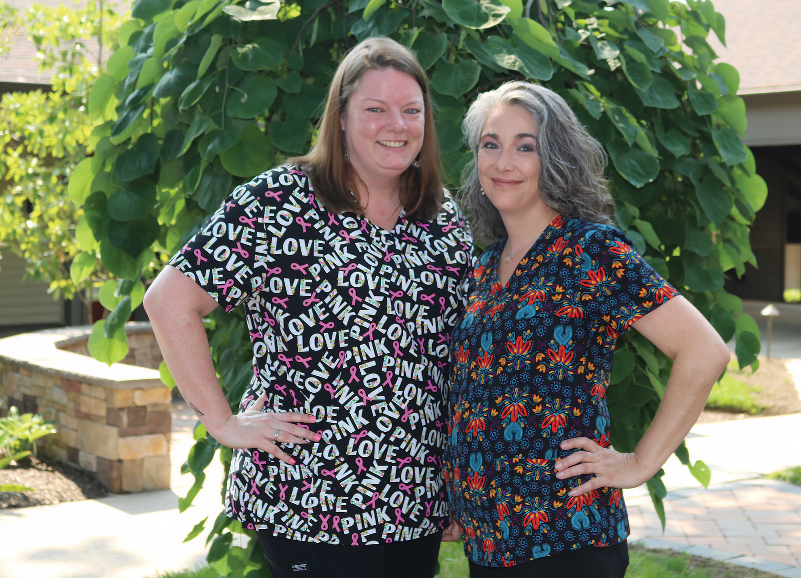 Our Staff, Melissa and Christine